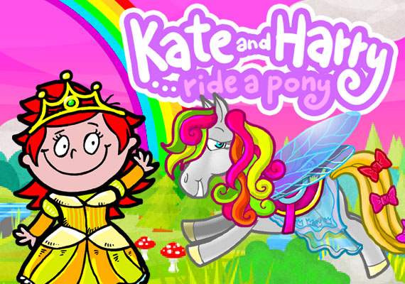 Ponies! Horses! And even a reindeer. Tap 5 times to design one and see Kate and Harry ride it. Create! - Experiment! - Explore! - Interact! - Get rewarded! - Try again! 								</br> 								<a  href='http://verynicestudio.com/files/khpony.html' class='external'> Learn more...</a></br> 								</br> 								<center> 								<a href='https://itunes.apple.com/us/app/ride-a-pony-with-kate-and-harry/id568844022?mt=8' class='external'><img src='_include/img/appstore.png'</a> 								<a href='https://play.google.com/store/apps/details?id=com.verynicestudio.KHHorse&feature' class='external'><img src='_include/img/google.png'</a>